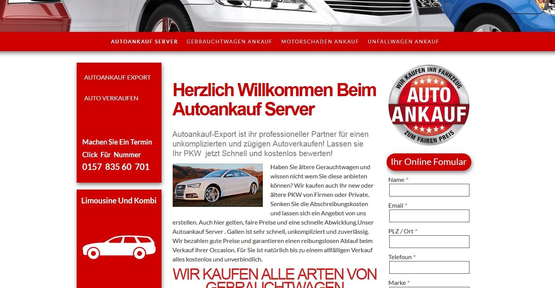 Autoankauf in Ruhrgebiet
