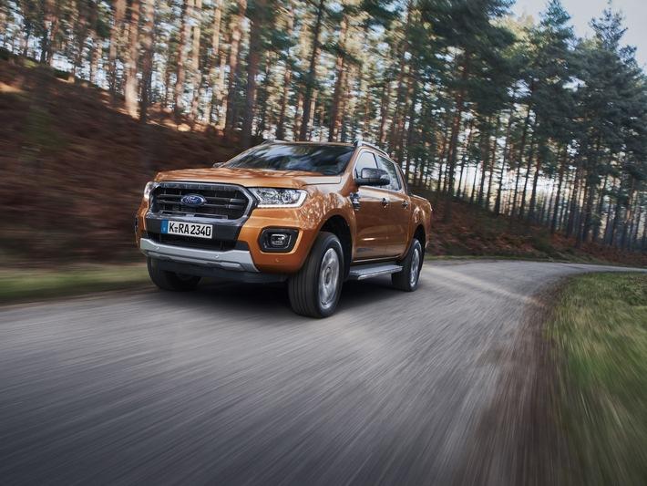 Ford Ranger bei den ETM Awards 2019 zum Sieger unter den Pick-ups gekürt