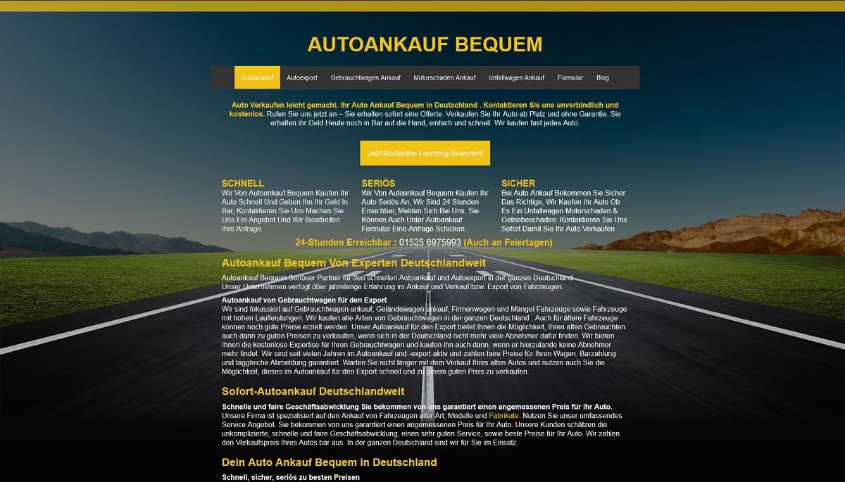 Autoankauf-bequem Pforzheim