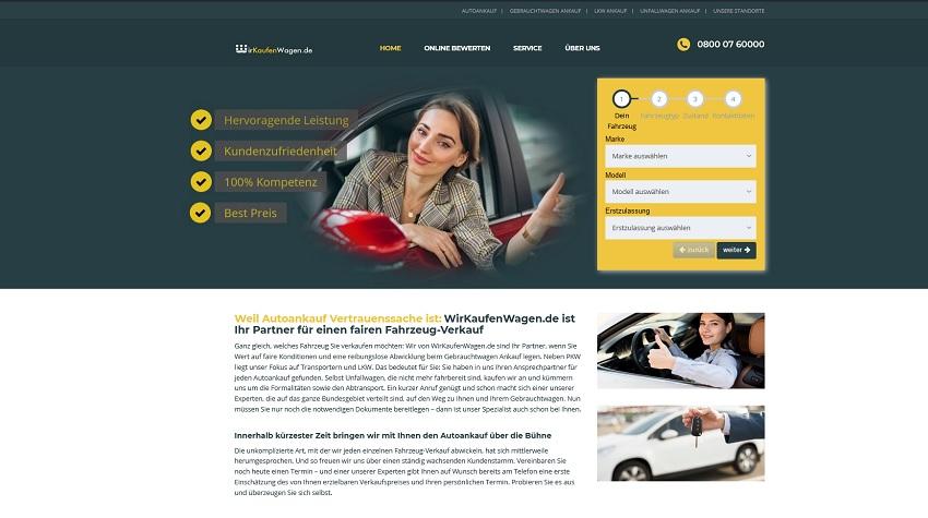 Gebrauchtwagen Ankauf Bönen | Autoankauf Bönen | wirkaufenwagen.de