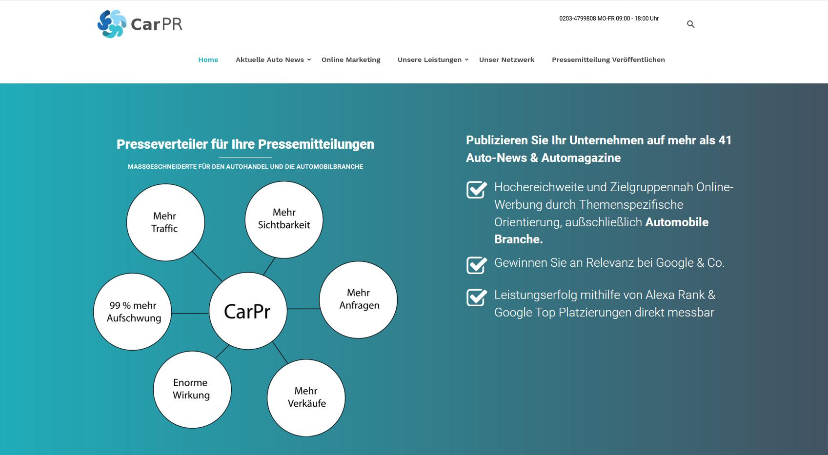 Online Marketing für Autohändler