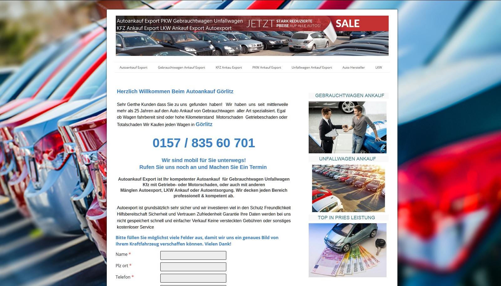 auto-ankauf-export.de - Autoankauf Mettmann