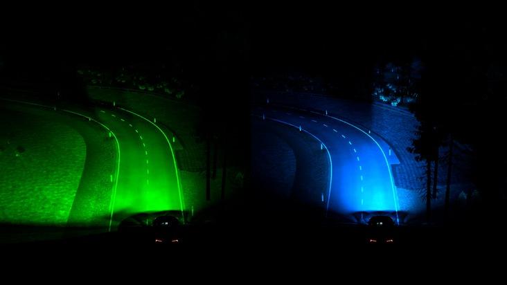 Ford testet vorausschauende Scheinwerfer, um Nachtfahrten einfacher und komfortabler zu machen