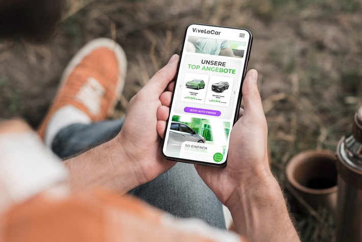 Mobile First: ViveLaCar mit eigener APP und frischem Auftritt